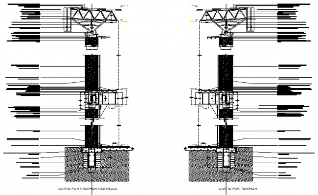 Structural Section In DWG File
