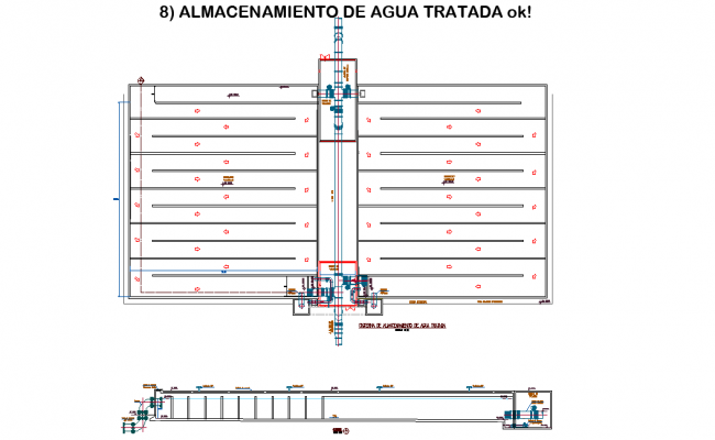 Storage of treated water autoacd file