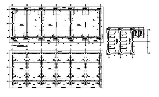 Structural Beam Design In AutoCAD File