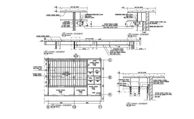 Structural Details CAD File Free Download