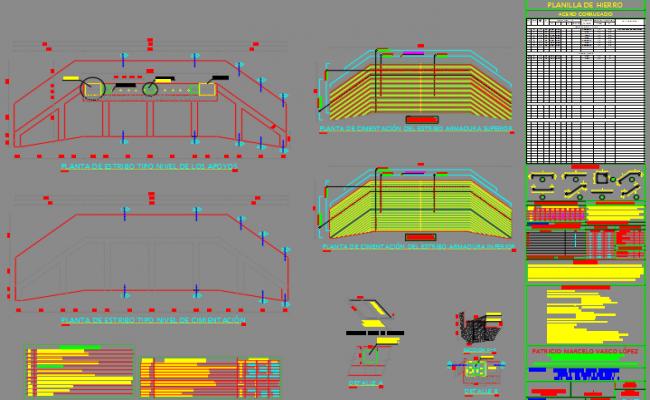 Structural design of bridge
