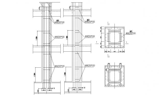 Structure Bar Construction Design DWG File Free Download