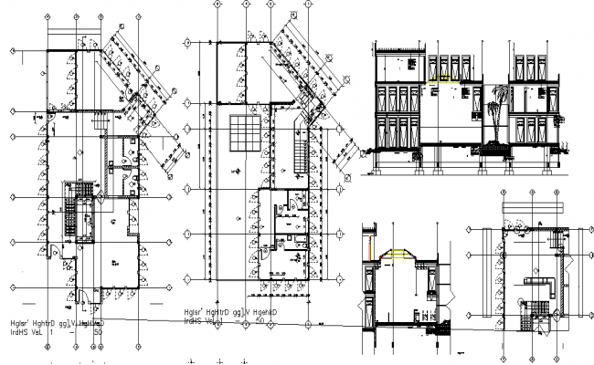 Structure Detail in the DWG file