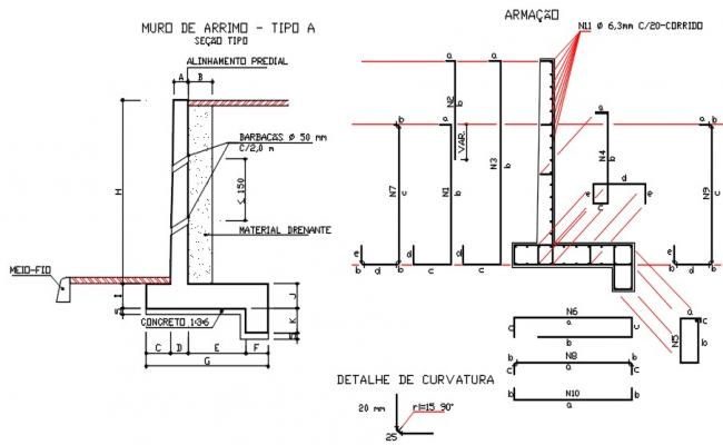 Structure detail drawings