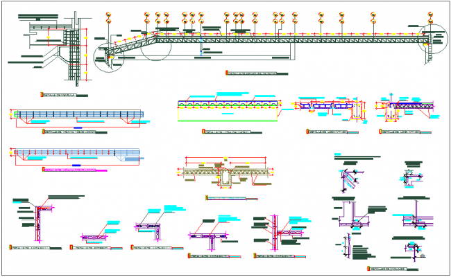 Structure member detail dwg file
