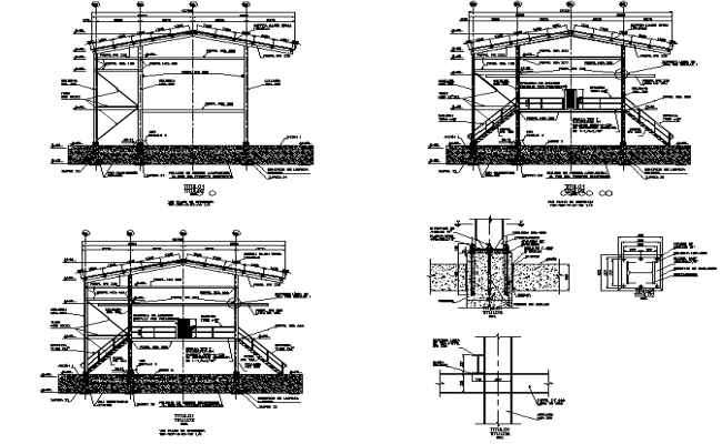 Structure of load tank cars plan detail dwg file
