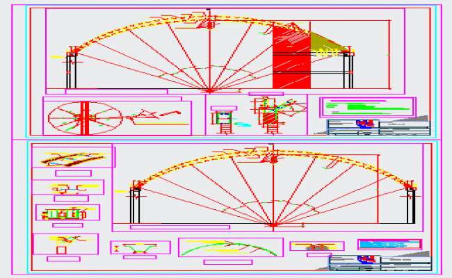 Structure of the Coliseus coverage design drawing