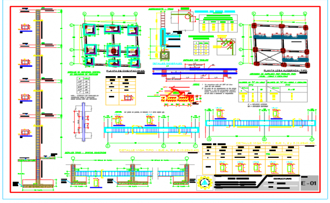 Structures Plan