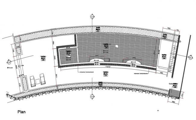 Swimming Pool Plan DWG File