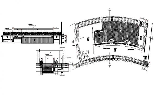 Swimming Pool Detail In DWG File