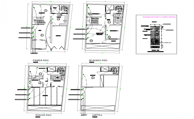 Switch board connect plan layout file