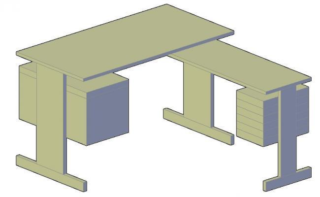 Table Design 3d Model Design Furniture CAD Block