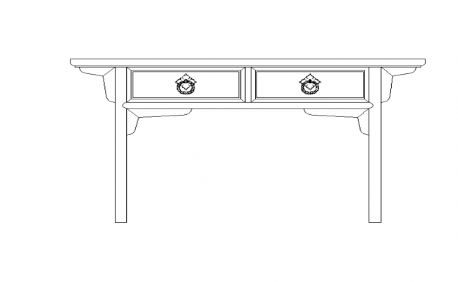 Table Elevation Block