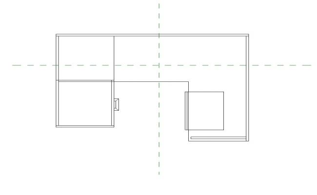 Table detail furniture blocks 2d view Revit file