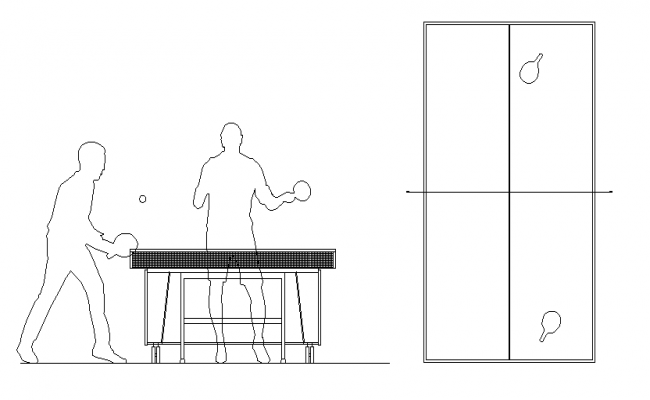 Charming Table Tennis Game Detailing Plan