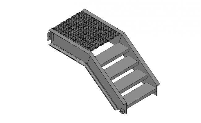 Teel deck stairs 3d detailing