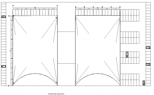 Terrace floor Water slope direction layout file