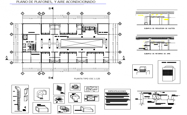 Terrace floor plan detail dwg file