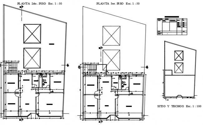 Terrace floor plan detail dwg file