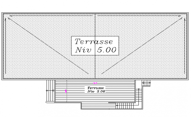 Terrace plan detail