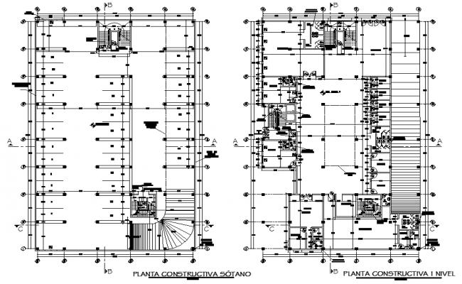 Terrace plan layout plan detail dwg file
