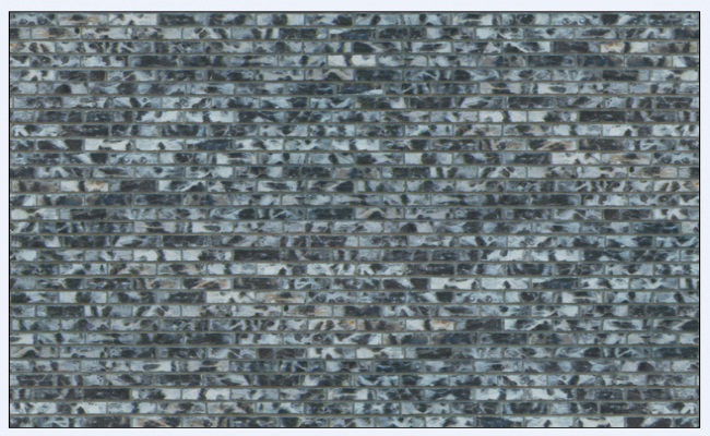 Texture of block stone masonry pavers design.