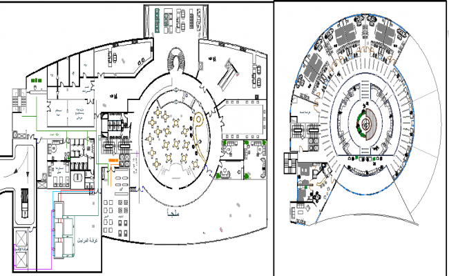 Good Architecture Layout Plan Of Hotel Project
