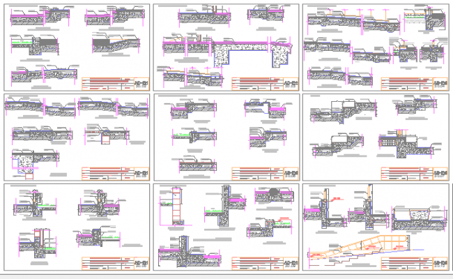 The Architecture Design of Clinic Project dwg file