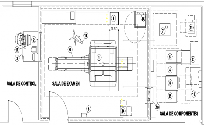 The Architecture Layout of Car Wash of Carriage dwg file