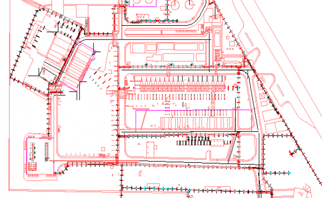 The Architecture Plan of An Industry Elevation dwg file