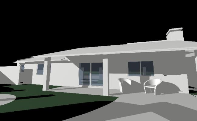 The morden villa