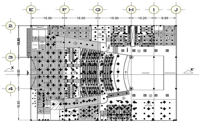 Theater Design CAD File Download
