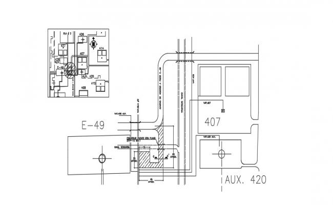 Thermal Plant In AutoCAD File