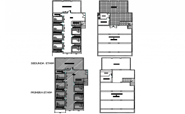 Thermal hot baths plan detail dwg file
