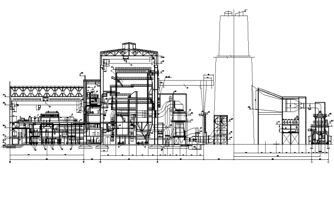 Thermal power station of 1000mw plan