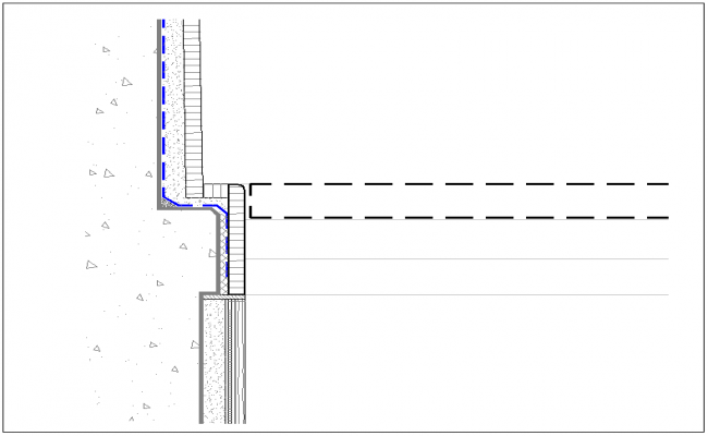 Threshold detail dwg file