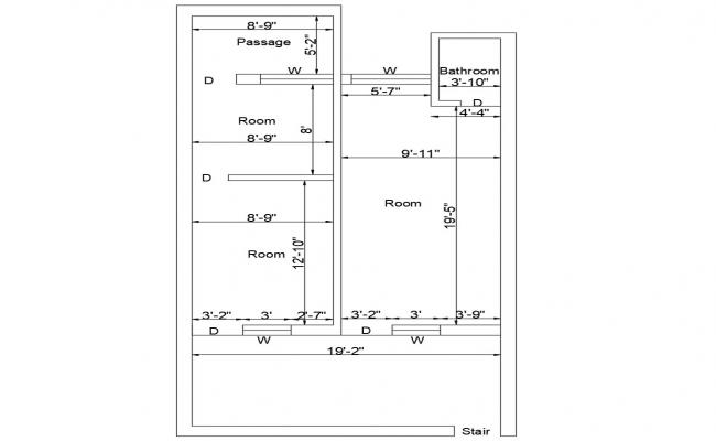 Tiny House Plans CAD File
