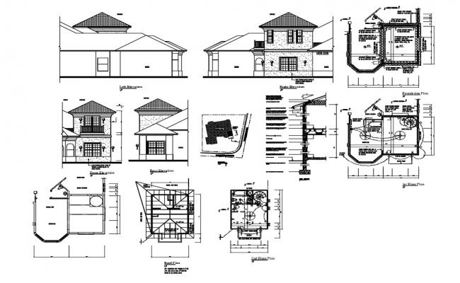 Tiny House Project DWG File