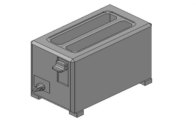 Toaster 3d file details