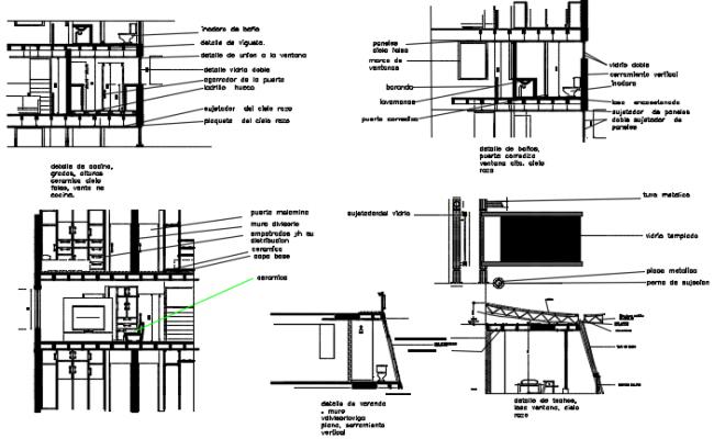 Toilet section plan detail dwg file