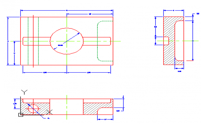 Tool kit block design drawing