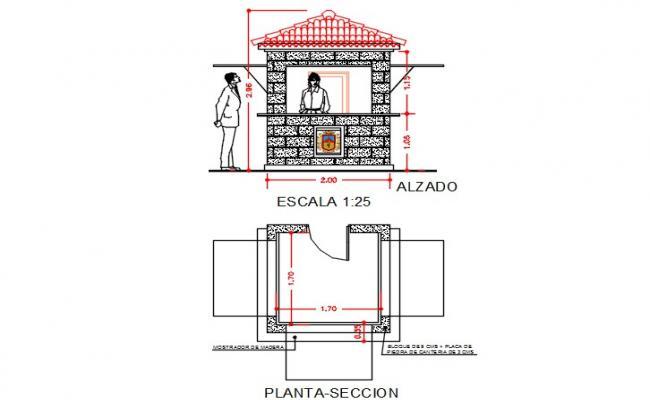 Tourism information cabin