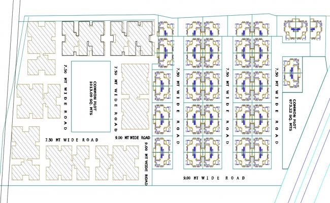 Town Residency CAD Drawing