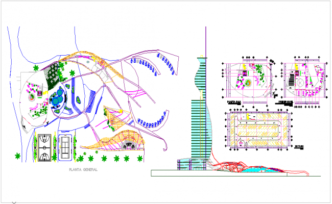Town planing Design of hotel
