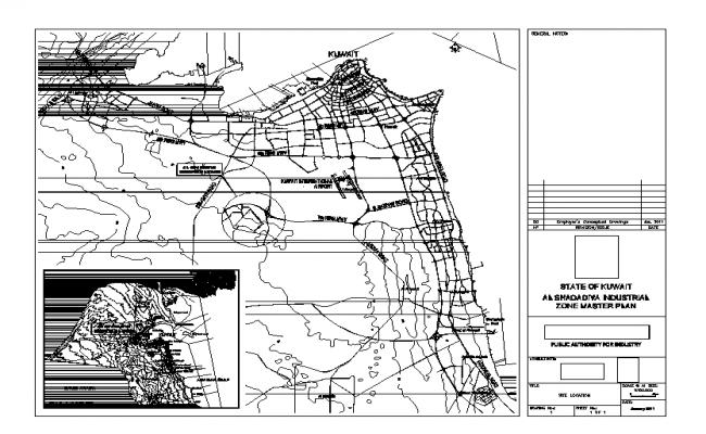 Town planing detail