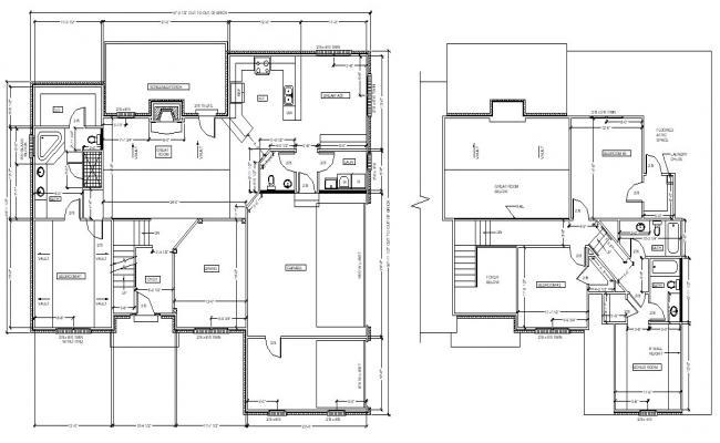 Tradition Bungalow Design Architecture Plan