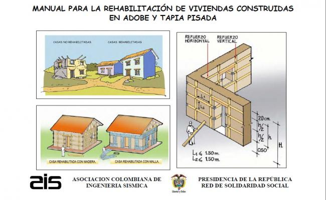 Traditional house elevation, section and construction details dwg file