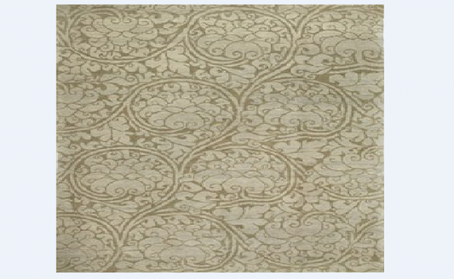 Traditional type carpet cad design block dwg file