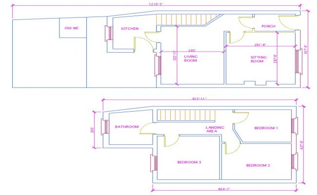 Two Floor House Plan