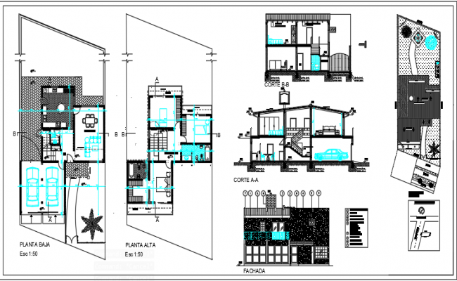 Two storey town house